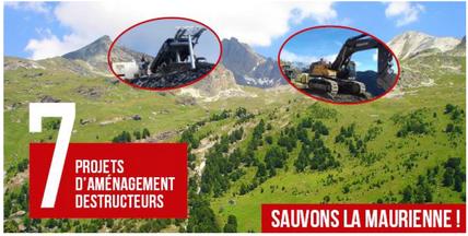 Read more about the article 7 projets d'aménagements destructeurs : Sauvons la Maurienne
