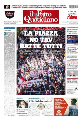 Une il Fatto Quotidiano 2018.12.09